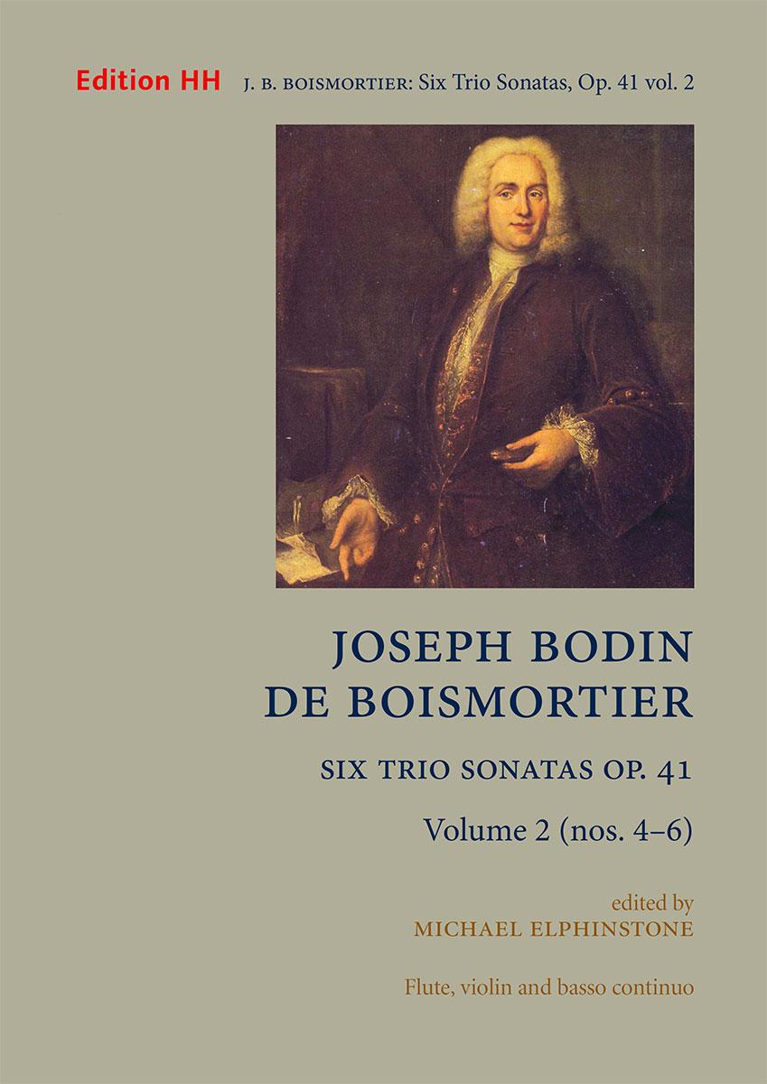 Boismortier, Joseph Bodin de: Six Trio Sonatas, Op. 41 volume 2