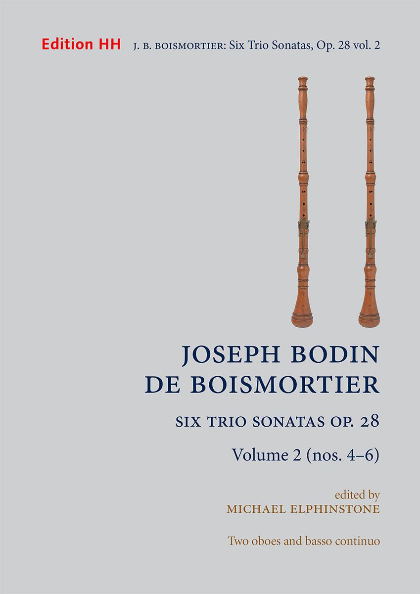 Boismortier, Joseph Bodin de: Six Trio Sonatas, Op. 28 volume 2