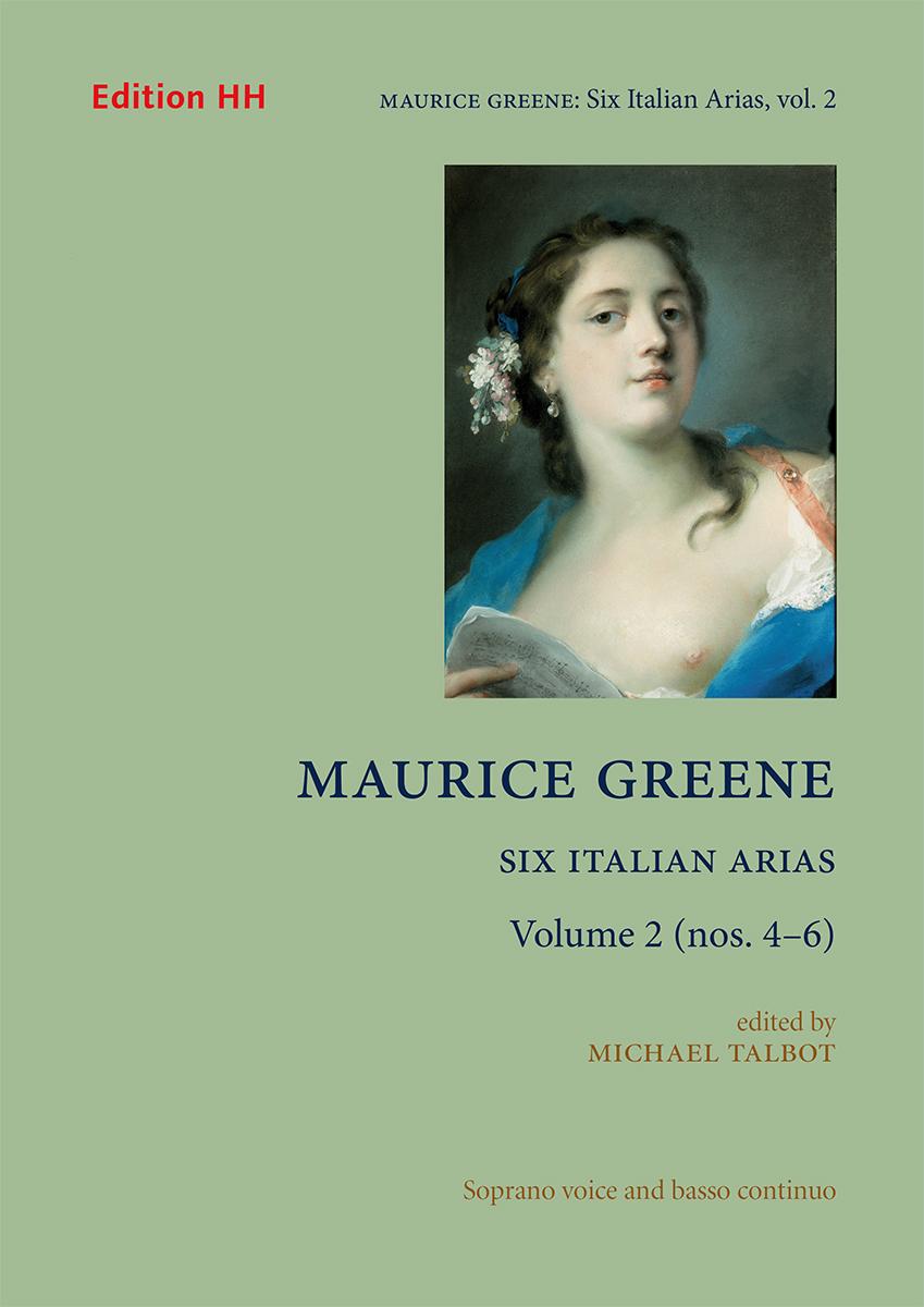Greene, Maurice, Six Italian Arias, Volume 2