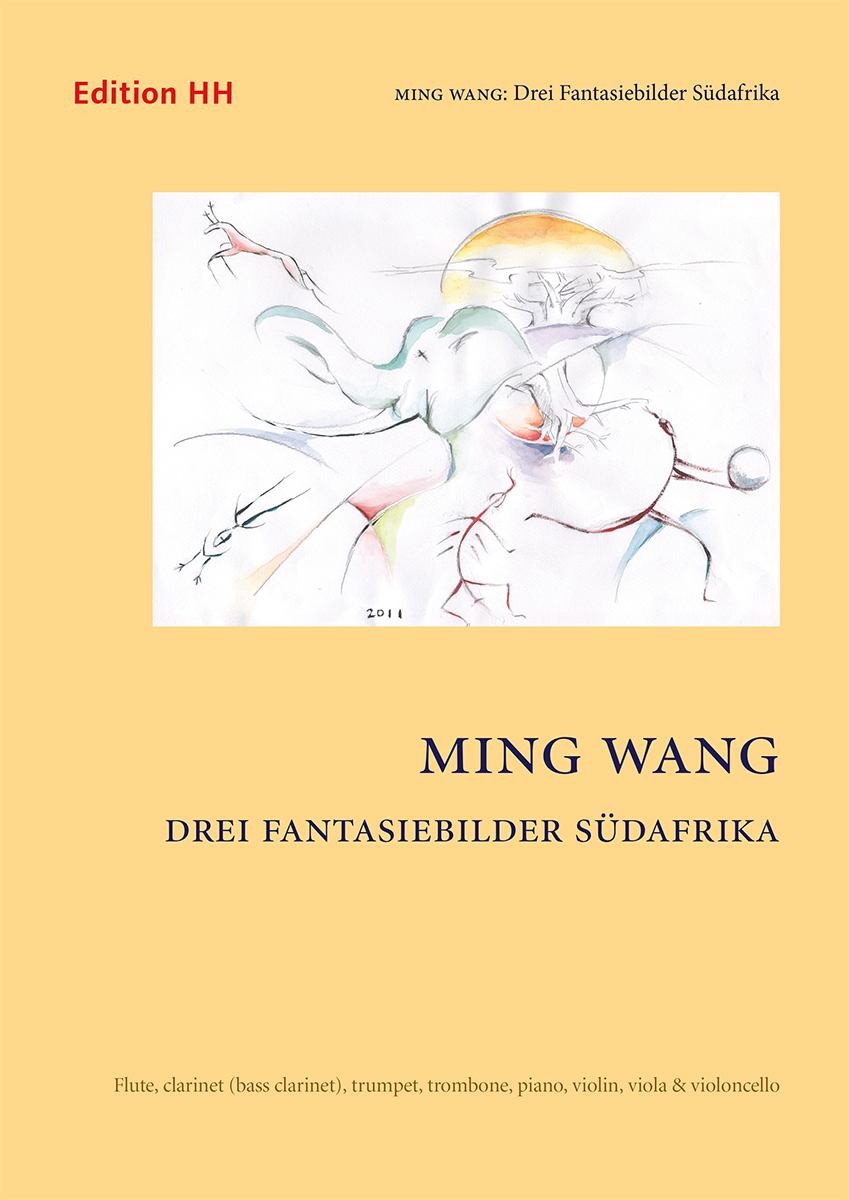 Wang, Ming: Drei Fantasiebilder Südafrika