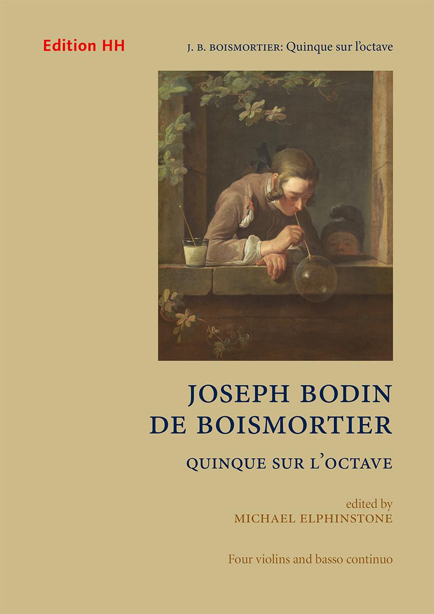 Boismortier, Joseph Bodin de: Quinque sur l'octave