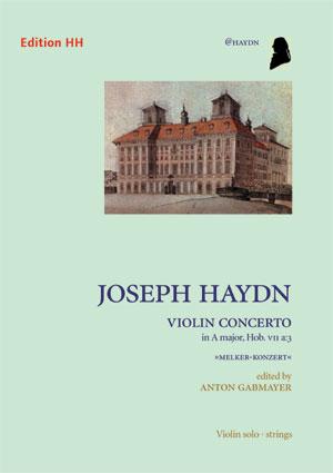 Haydn, Joseph: Violin concerto in A major