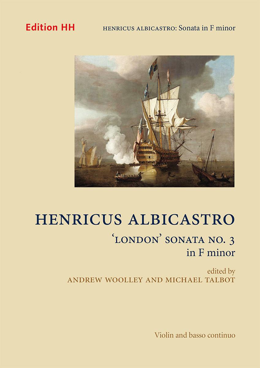 Albicastro, Henricus: 'London' Sonata No. 3 in F minor