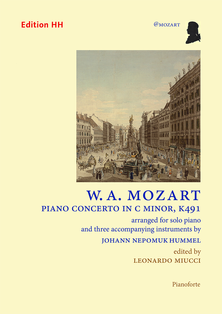 Mozart/Hummel: Piano Concerto in C minor, K491