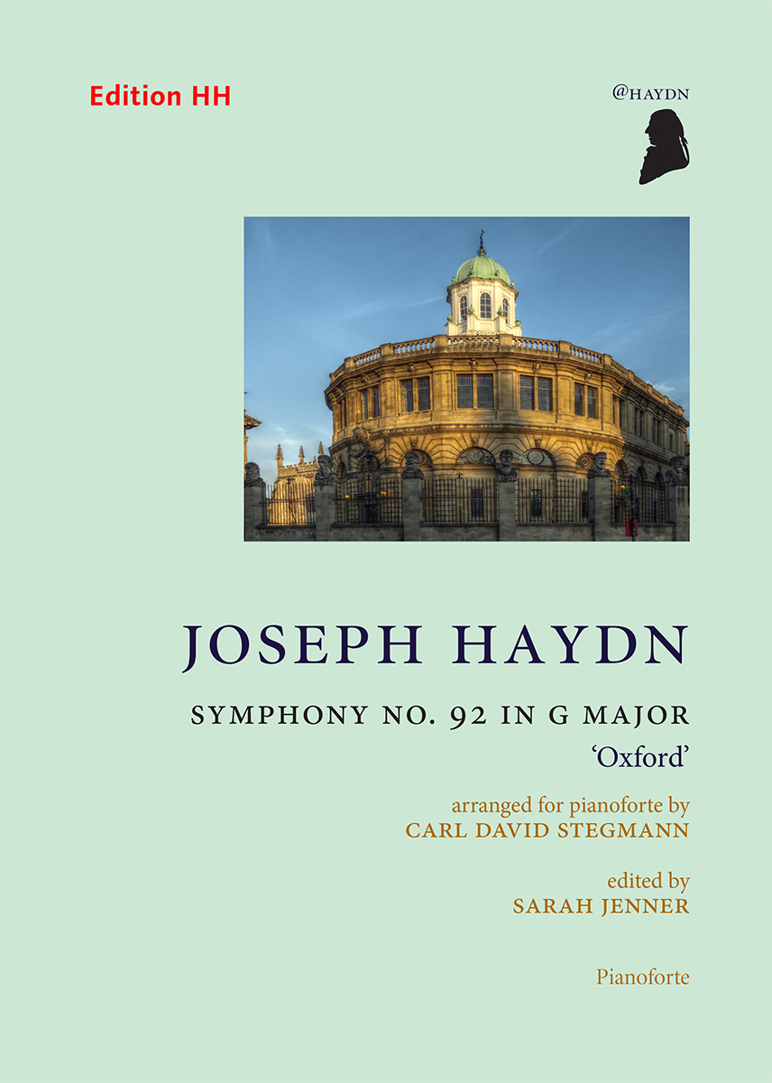 Haydn, Joseph: Symphony No. 92 in G major, 'Oxford'