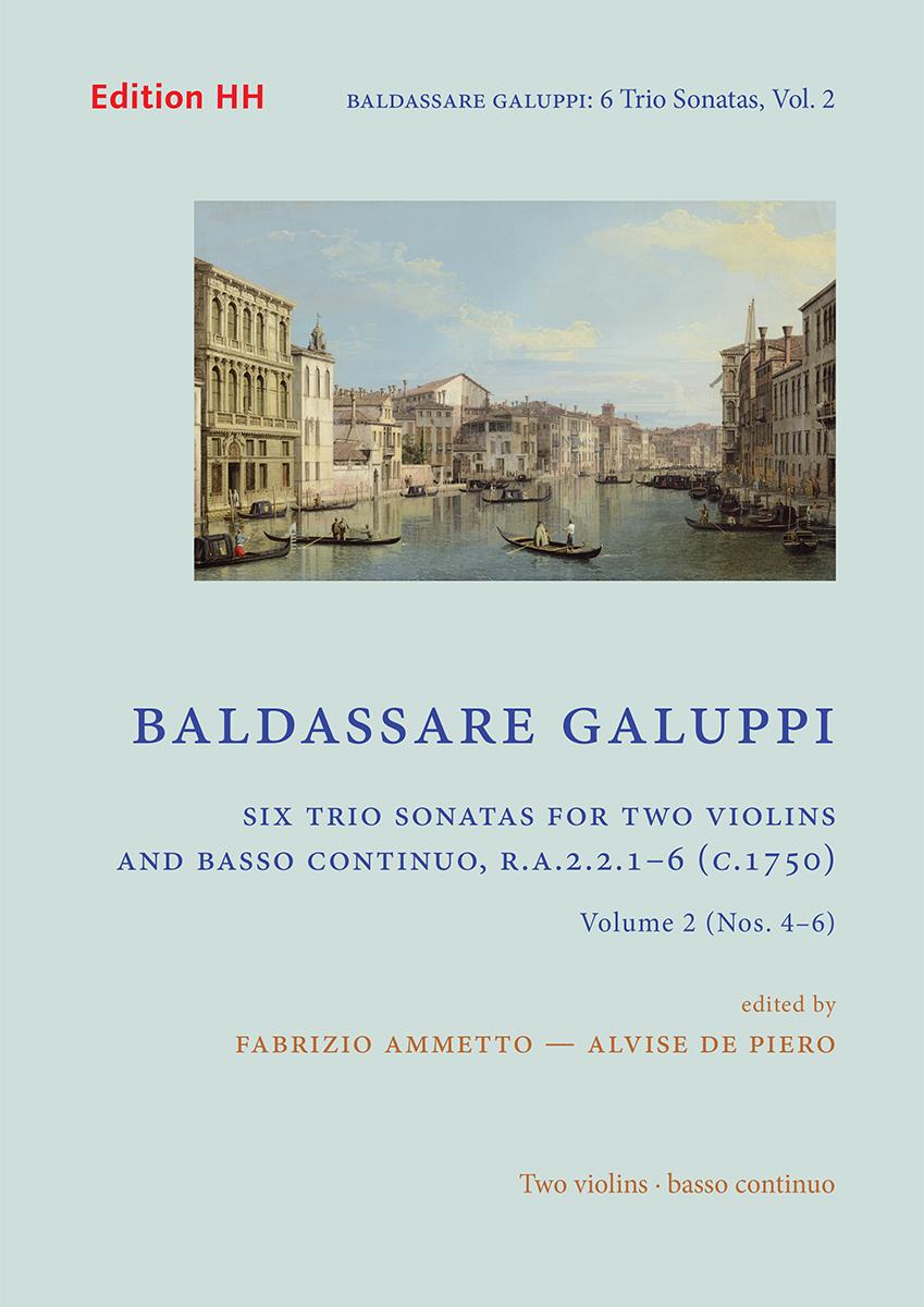 Galuppi, Baldassare: Six trio sonatas, volume 2