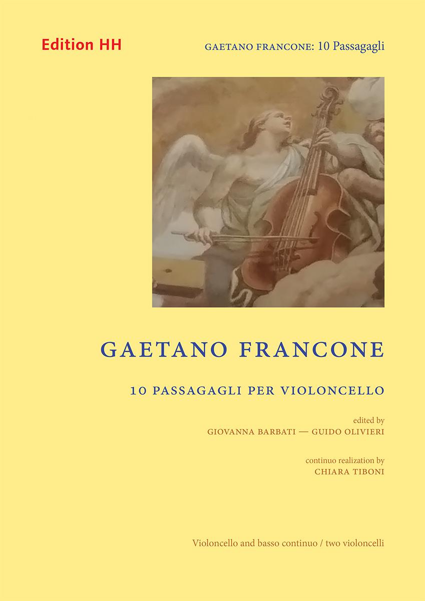 Francone, Gaetano: 10 Passagagli per violoncello