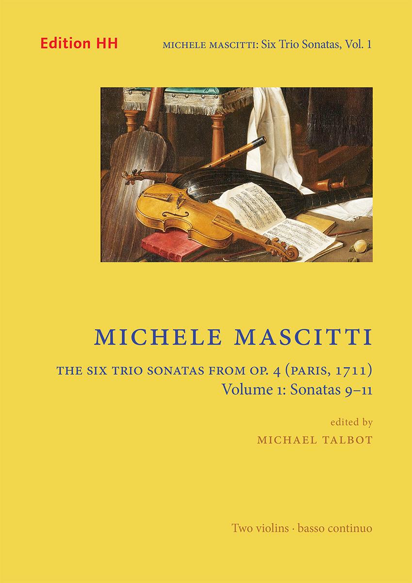 Mascitti, Michele: The Six Trio Sonatas from Op. 4 - Volume 1